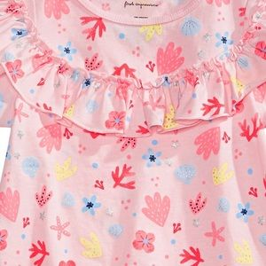 First Impressions Shirts & Tops - NWT First Impressions Shell Print Ruffle Top 24mo